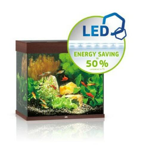 Juwel akvárium Lido 120 LED sötétbarna
