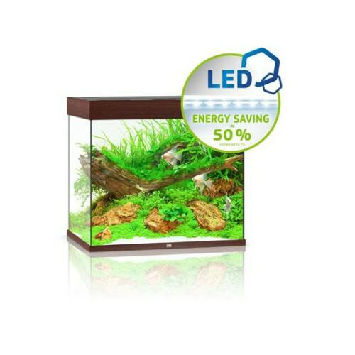 Juwel akvárium Lido 200 LED sötétbarna