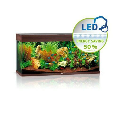 Juwel akvárium Rio 180 LED sötétbarna