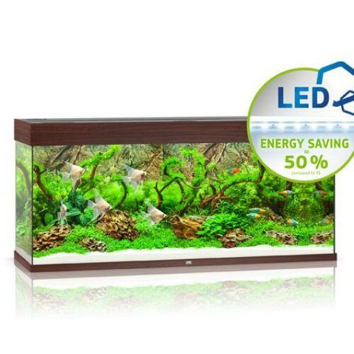 Juwel akvárium Rio 240 LED sötétbarna