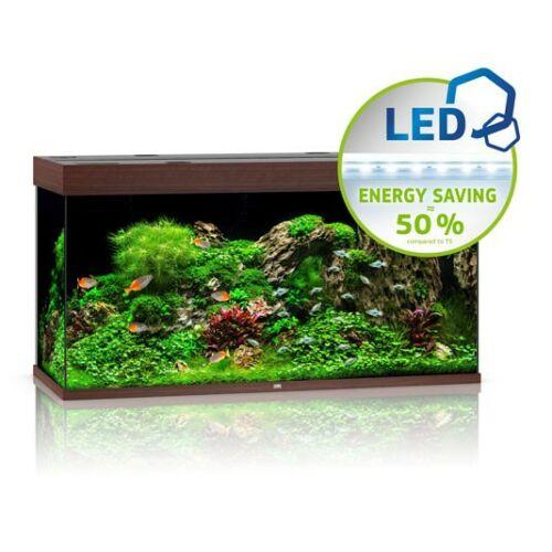 Juwel akvárium Rio 350 LED sötétbarna