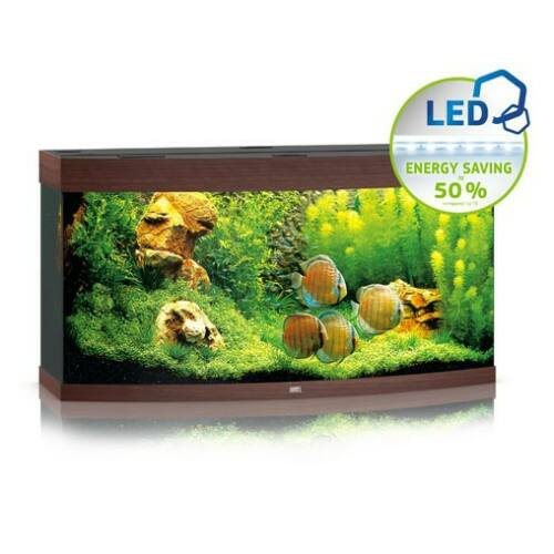 Juwel akvárium Vision 260 LED sötétbarna