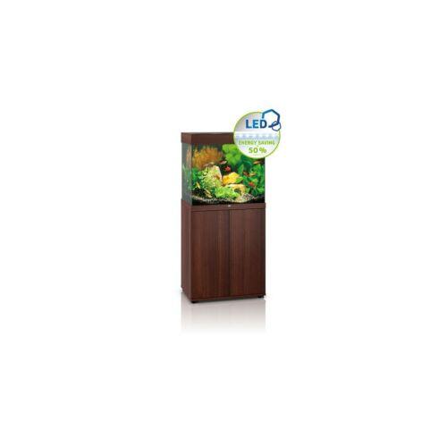 Juwel Lido 120 LED akvárium szett bútorral  (Sötét fa)