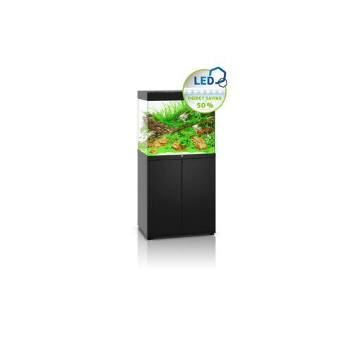 Juwel Lido 200 LED akvárium szett bútorral  (Fekete)