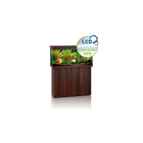 Juwel Rio 180 LED akvárium szett bútorral  (Sötét fa)