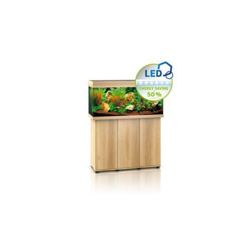Juwel Rio 180 LED akvárium szett bútorral  (Világos fa)