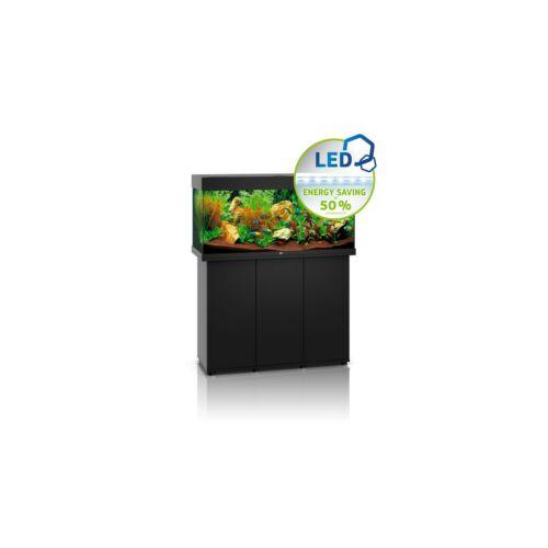 Juwel Rio 180 LED akvárium szett bútorral  (Fekete)