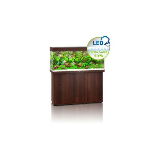 Juwel Rio 240 LED akvárium szett bútorral  (Sötét fa)