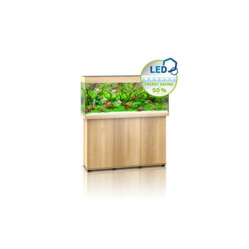 Juwel Rio 240 LED akvárium szett bútorral  (Világos fa)