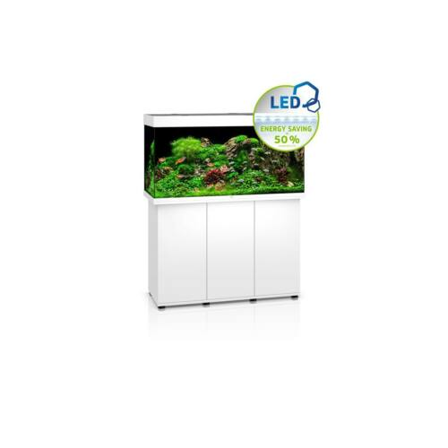 Juwel Rio 350 LED akvárium szett bútorral  (Fehér)