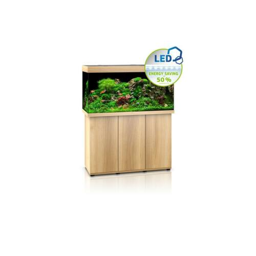 Juwel Rio 350 LED akvárium szett bútorral  (Világos fa)