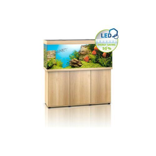 Juwel Rio 450 LED akvárium szett bútorral  (Világos fa)