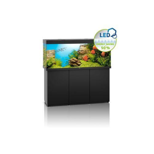Juwel Rio 450 LED akvárium szett bútorral  (Fekete)