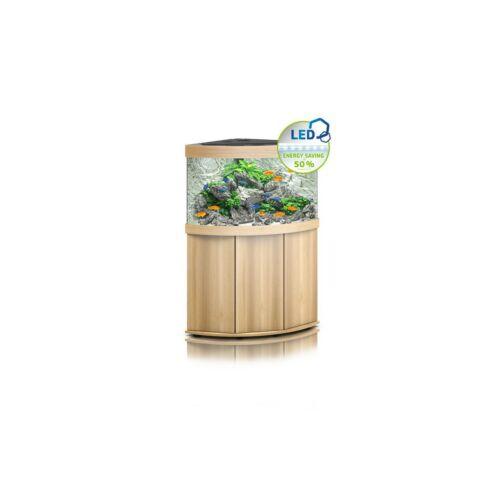 Juwel Trigon 190 LED akvárium szett bútorral  (Világos fa)