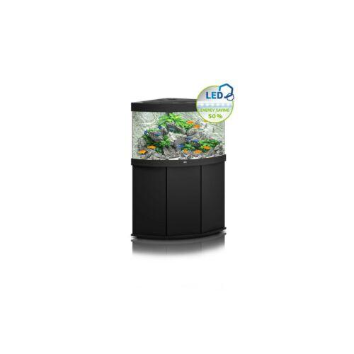 Juwel Trigon 190 LED akvárium szett bútorral  (Fekete)