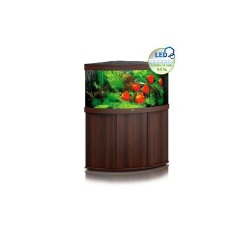 Juwel Trigon 350 LED akvárium szett bútorral  (Sötét fa)