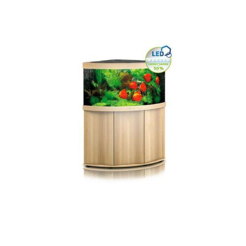 Juwel Trigon 350 LED akvárium szett bútorral  (Világos fa)