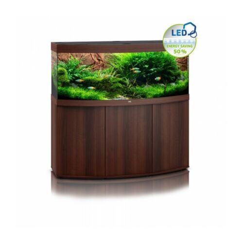 Juwel Vision 450 LED akvárium szett bútorral  (Sötét fa)
