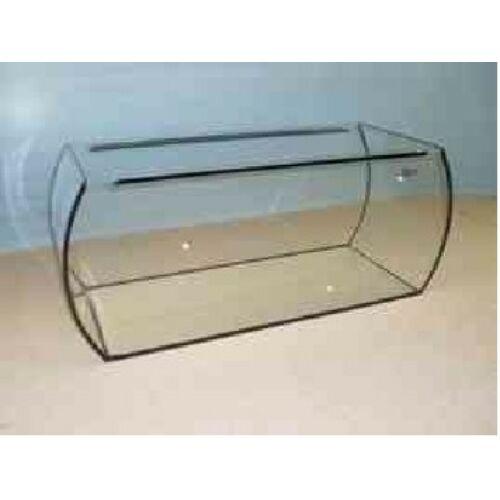120L (6mm-es ü., 91,5 x 35 x 38m) Ovális elejű íves akvárium