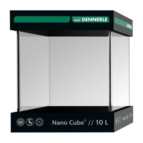 Dennerle NanoCube akvárium fedlappal, alátét szivaccsal - 10 liter