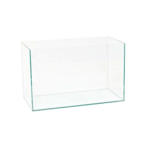 37,5l 50x25x30 cm 4mm szögletes akvárium
