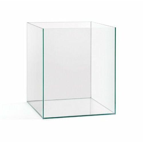 25x25x30 18,5L 4mm + toló üveg szögletes akvárium