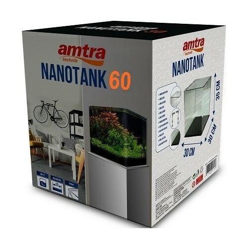 VAVI Nanocube 60 - FULL akváriumszett külső szűrővel