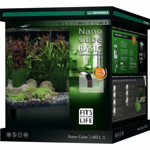 Dennerle NanoCube Basic akvárium szett - szűrővel, Style LED L lámpával - 60 liter