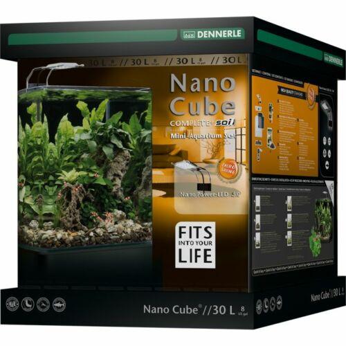 Dennerle NanoCube Complete+ SOIL - Power LED 5.0 - komplett akvárium szett - 30 liter