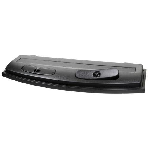 Műanyag tetővilágítás íves W-80 80x35 LED fekete