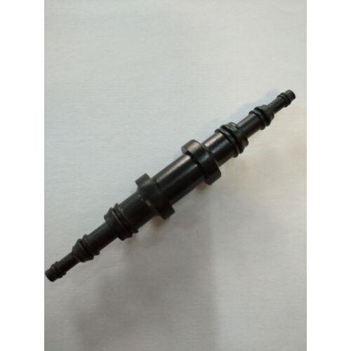 Rebie fekete egyenes szűkítő 4/6/9 / 4/6/9 mm , kívánt átmérőre vágható