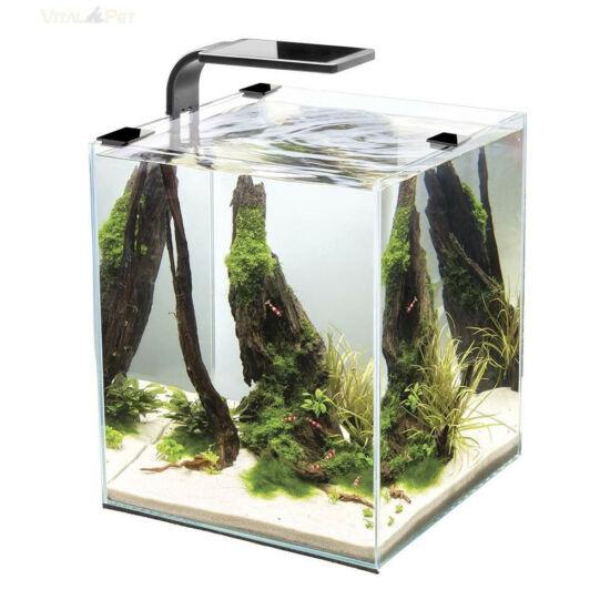 Aquael Shrimp Smart szett 30 day and night - fekete nano akvárium szett