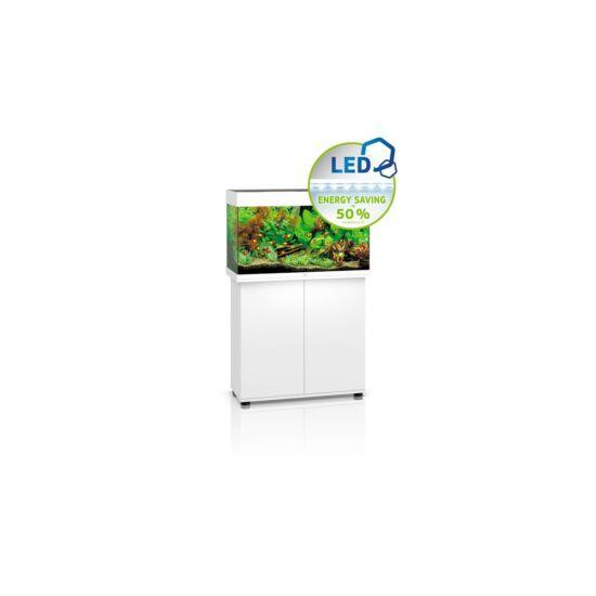 Juwel Rio 125 LED akvárium szett bútorral  (Fehér)