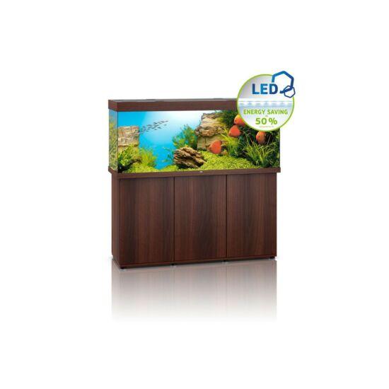 Juwel Rio 450 LED akvárium szett bútorral  (Sötét fa)