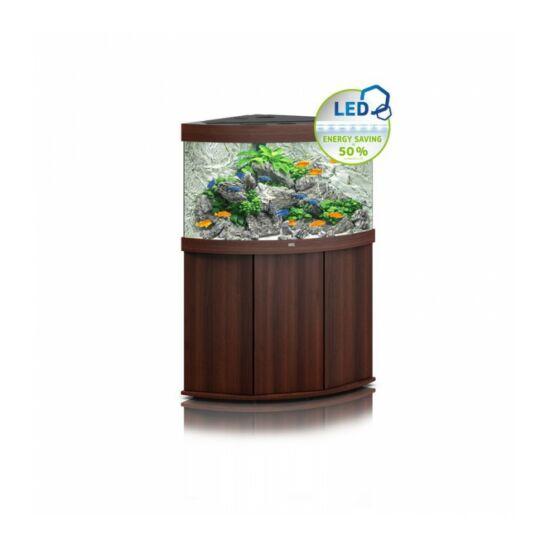 Juwel Trigon 190 LED akvárium szett bútorral  (Sötét fa)