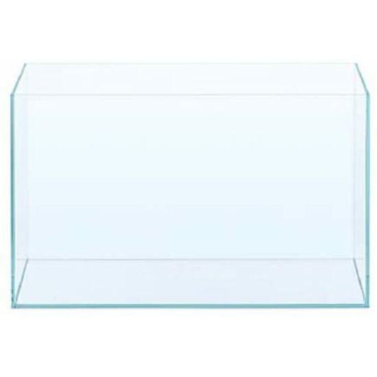 Akvárium 54 liter ,60x30x30 cm ,6mm üveg ,gépi csiszolás  ,opti white üveg ,merevítés  nélkül