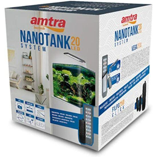 VAVI  Nanotank 20  - FULL akváriumszett külső akasztós szűrővel