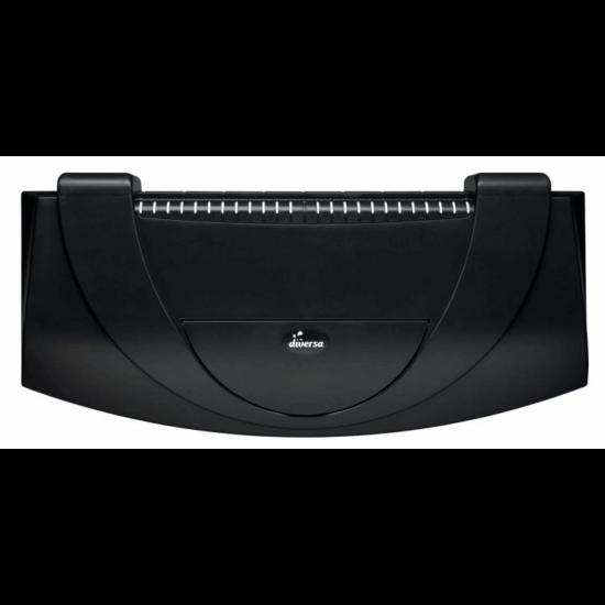 Aristo műanyag tetővilágítás fekete 80 x 35 AP LED