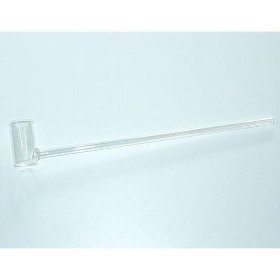 Garnéla kiemelő üveg pipa - 40cm