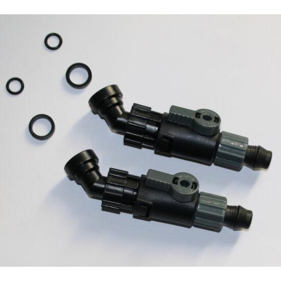 10762 AT-3335/6 Külső szűrő csap 2db (Hose in/out tap)