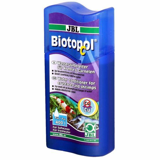 JBL Biotopol C 100ml - vízelőkészítő készítmény garnélák és rákok számára