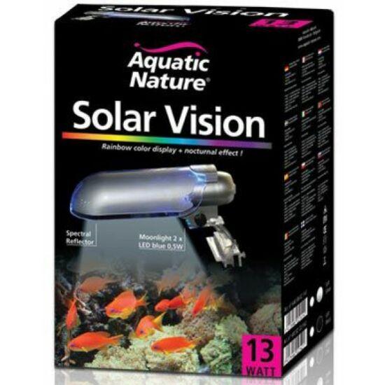 SOLAR VISION 13W - SILVER  6500K ízzóval