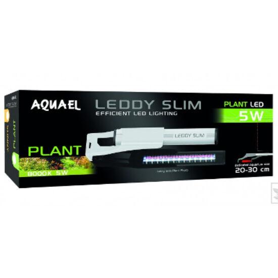 Aquael Leddy slim 5w 8000K plant 330lumen  20-30cm - akváriumi LED világítás